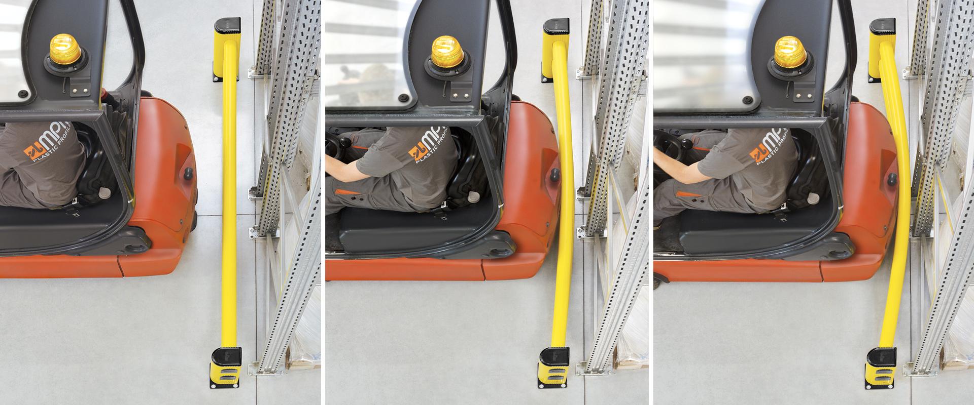 guard rail muletto in pvc